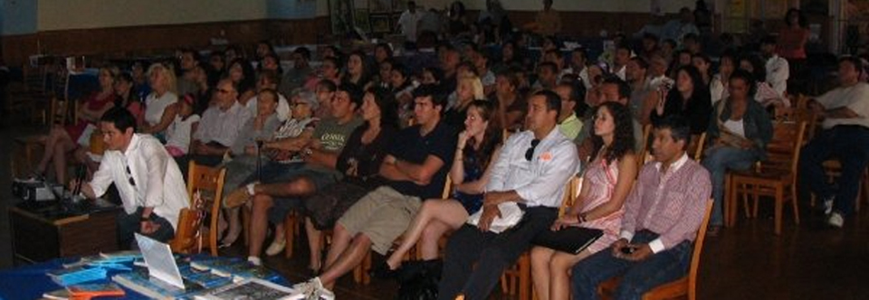 Lectures, panels and artistic presentations